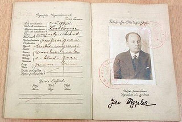 Paszport Jana Wyplera