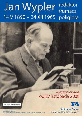 Wystawa w bibliotece Śląskiej (2008)